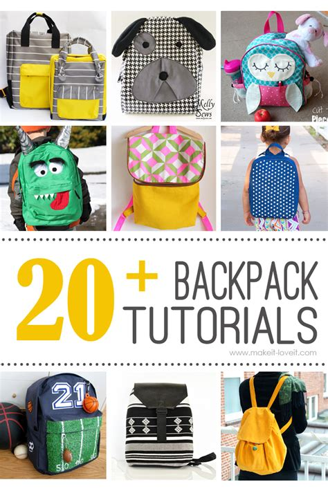 diy backpack tutorials the daily seam