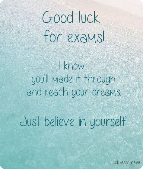 Top 50 Good Luck For Exam Messages And Wishes With Images Final Exam Wishes