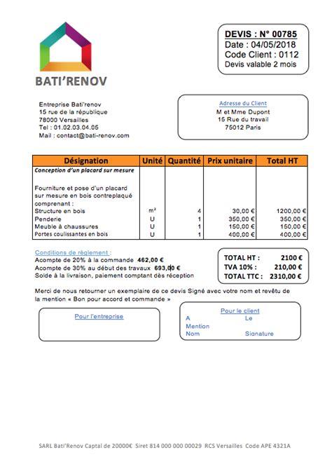 Prix Placard Sur Mesure 2798 by Prix D Am 233 Nagement De Placard Sur Mesure Et Exemple De Devis