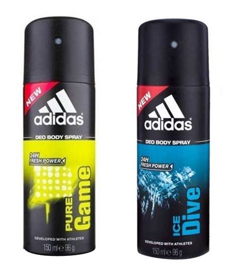 Parfum Adidas Deo Spray adidas deo pack of 2 buy at best prices in india
