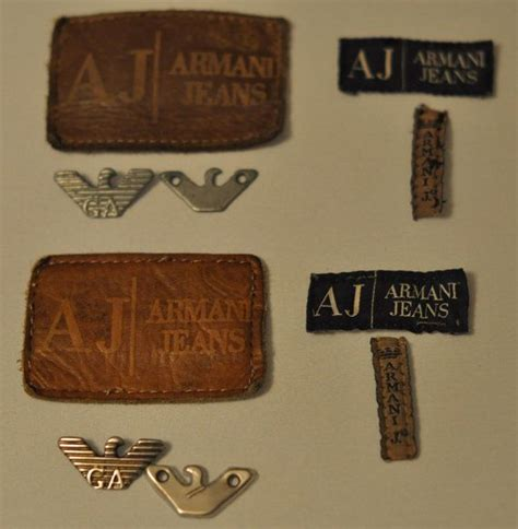 Labels For Armani by Vintage Authentic Aj Armani Label 2 By