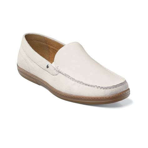 slip on suede loafers florsheim lounge venetion slip on loafers in white for