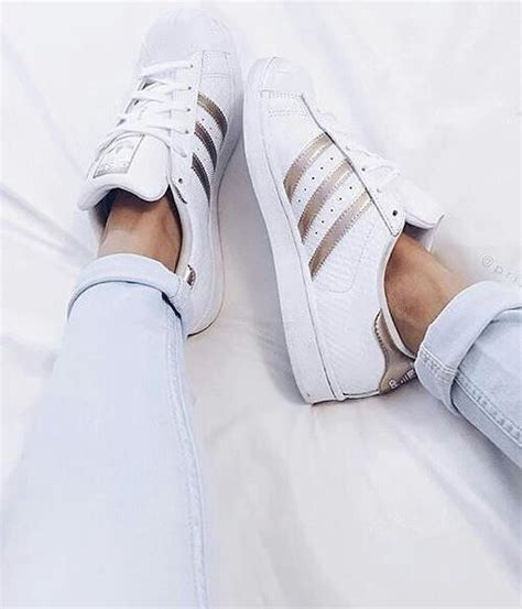White Gold Superstar shoes white gold adidas superstar image 4210637 by