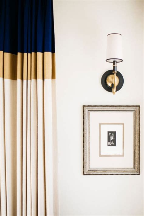 color block curtain home decorating trends homedit