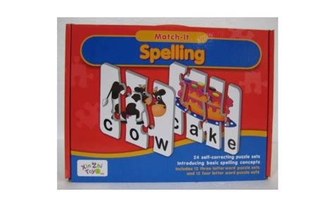 Puzzle Match It Spelling match it spelling puzzle 5080