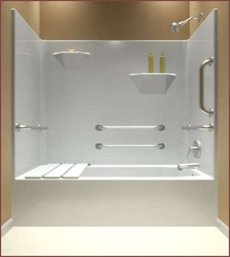 one bath shower one bathtub shower surround home design ideas