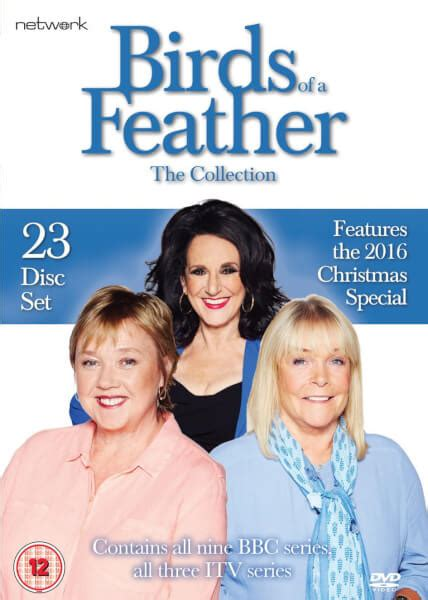 A Husbands Ways Feather Limited birds of a feather the complete collection dvd zavvi