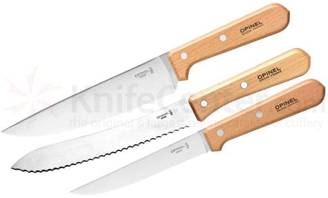opinel kitchen knives review opinel 3 classic kitchen set sandvik 12c27
