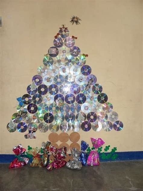 recycled christmas tree ideas images
