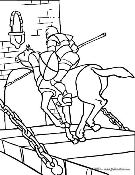 20 dessins de coloriage chevalier en ligne 224 imprimer