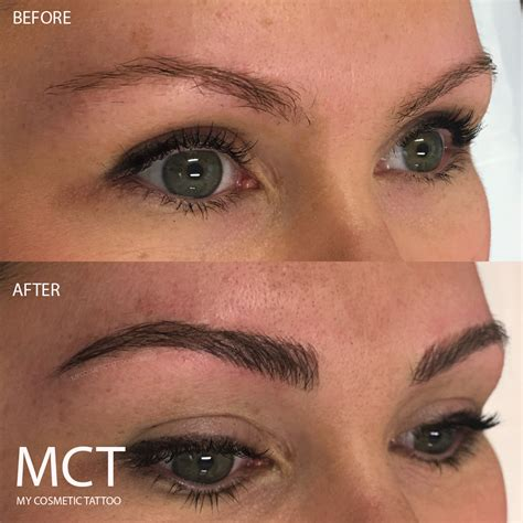 3d eyebrows tattoo 3d eyebrow tattoo before and after www imgkid com the