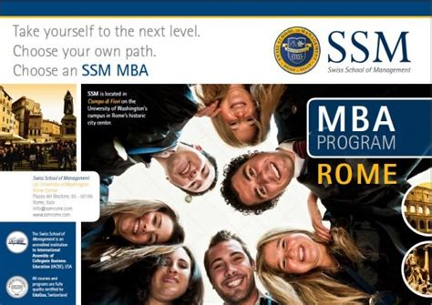 One Year Mba Programs Abroad by Mba Degree International Accredited In One Year Study