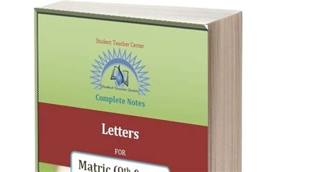 Letter For 9th Class letter for 9th and 10th class complete letters you