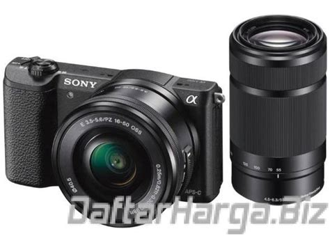 Kamera Mirrorless Sony A5100 list harga kamera sony mirrorless 2018 kamera mirrorless