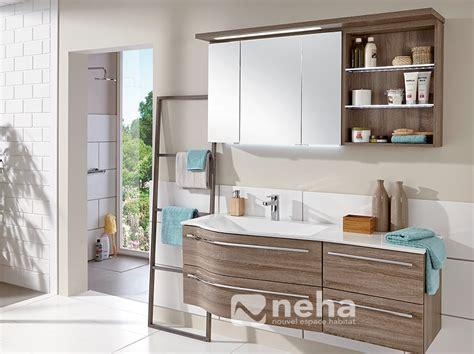 conrav meuble sdb 120 vasque en bois