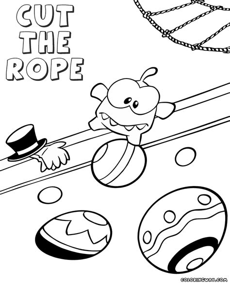 rope coloring pages
