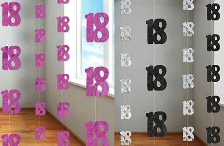 colour themes for 18th birthday 18th birthday party decorations partyrama