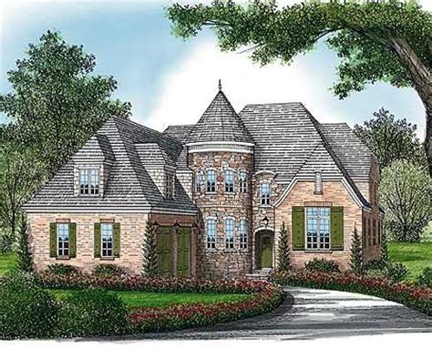 house plans with turrets plan 17578lv curved turret european house plans