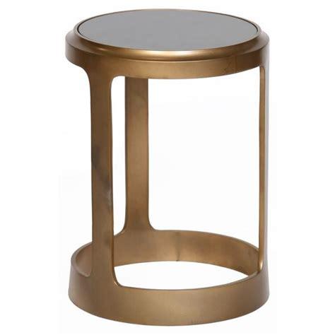 aluminum accent table brass white granite top aluminum round accent table