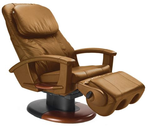 massage armchair recliner cappuccino leather ht 135 human touch massage chair power