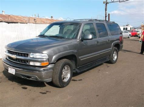 find used 2001 chevy suburban no reserve in orange