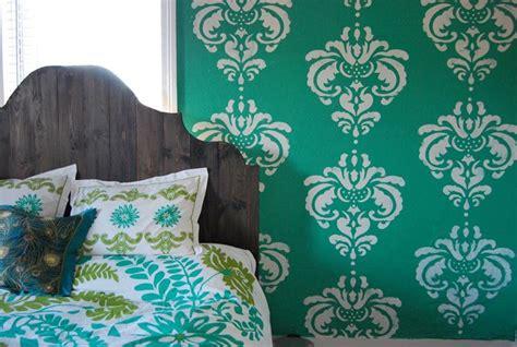 stencil muro da letto stencil da letto decoupage decorare la