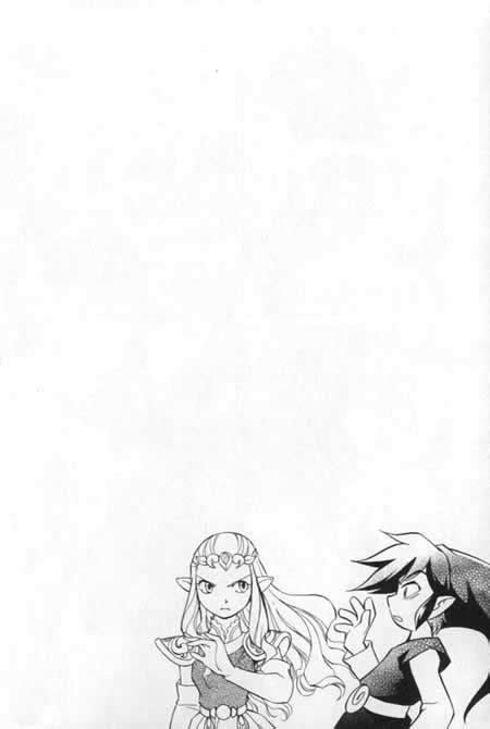 Manga: The legend of Zelda Four swords ch 2 part 1 - Blog