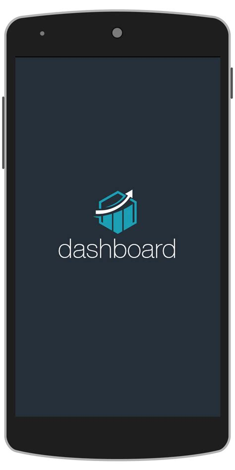 ios splash screen template psd dashboard android app template