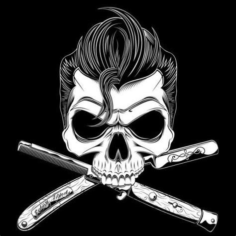 Pomade Skul moderngrease greaser psychobilly rockabilly skull