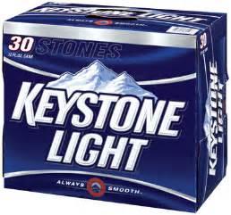 keystone light keystone light 30 pack cassidy s brew zoo