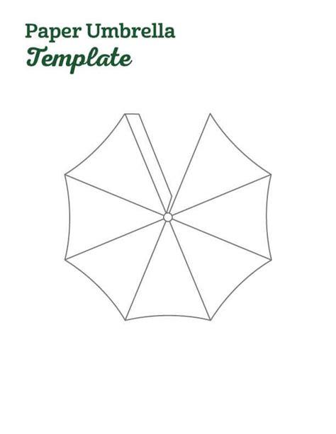 Umbrella Template For Card by Umbrella Template Umbrella Craft Templates Best Photos Of