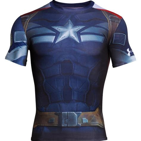 Special T Shirt Armour Special Edition Size M L Xl Termurah Armour S Captain America Compression
