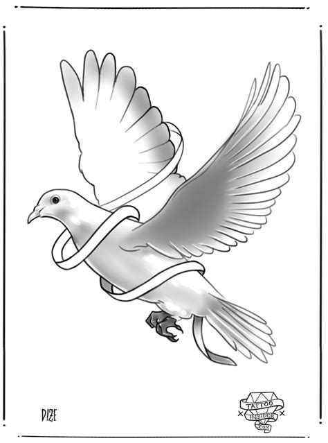 dove tattoo design 9 free dove designs insider