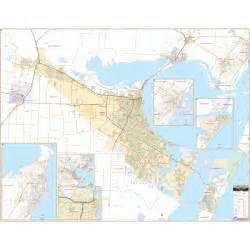 corpus christi tx wall map keith map service inc