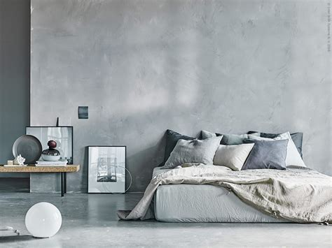 Dreamy concrete Ikea bedroom   Daily Dream Decor