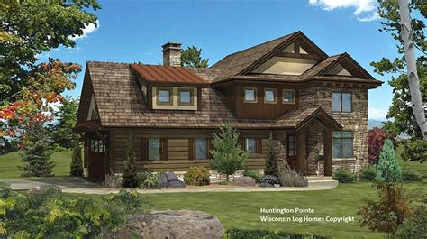 hybrid home plans hybrid log house plans mywoodhome com
