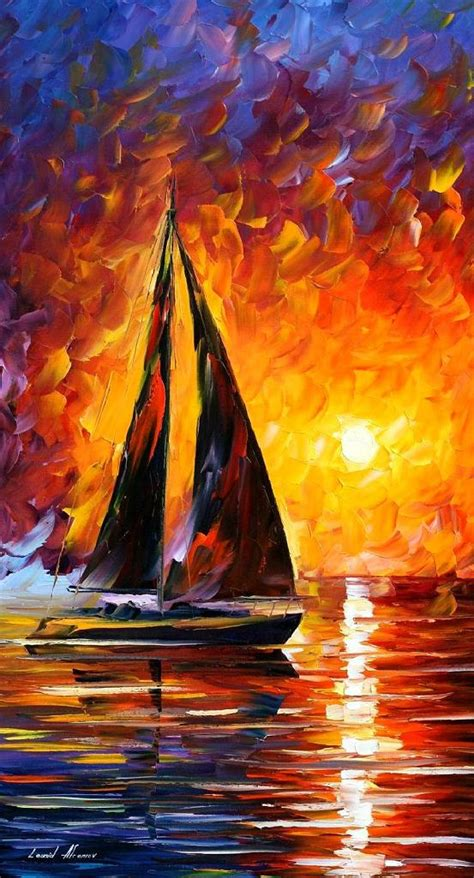 famous artist biography com leonid afremov oil on canvas palette knife buy original