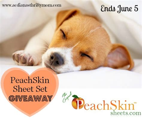 Sheets Giveaway - the original peachskin sheets giveaway thrifty momma ramblings