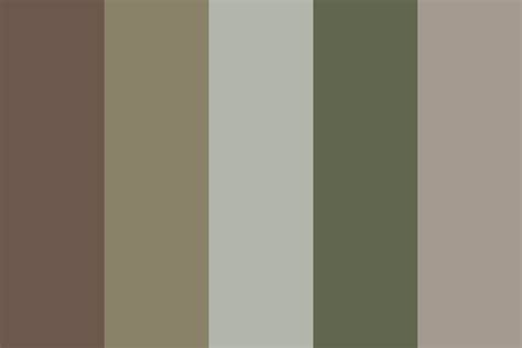 light camo color palette