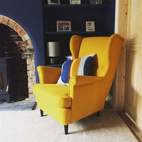 Strandmon Armchair by 25 Best Ideas About Yellow Armchair On Yellow