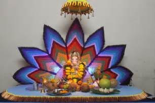 Decoration For Ganesh Festival At Home Eco Friendly Ganesh Eco Friendly Decorations Ideas