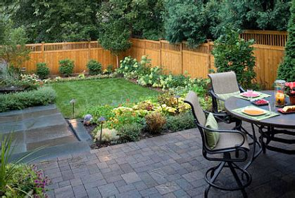 Small Backyard Landscape Ideas Simple Small Backyard Ideas Www Pixshark Images Galleries With A Bite