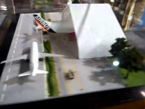 como hacer efecto espejo en maqueta maqueta del aeropuerto de toluca youtube