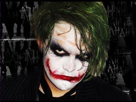 joker dark knight makeup tutorial youtube