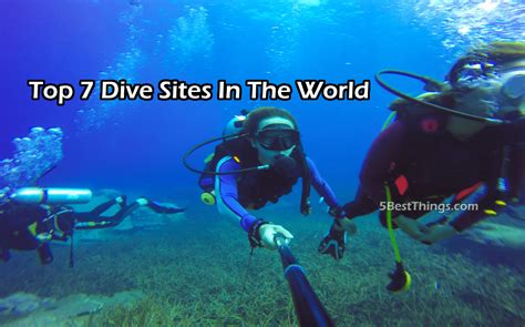 best dive spots in the world top 7 dive in the world you need to explore