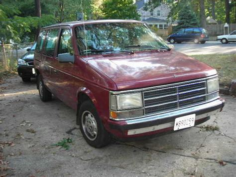 1985 dodge caravan teamgoon 1985 dodge caravan cargo specs photos
