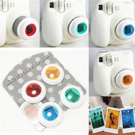 Mirror Lens Color For Instax 7s 8 northern passages shopping fujifilm