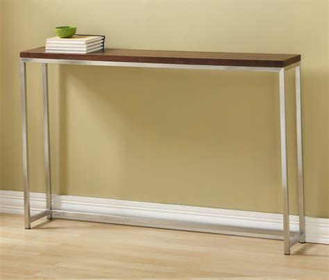 simple living emilia blue sofa table simple sofa table walnut wood sofa table purobrand co