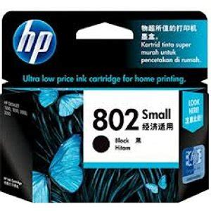 hp 802 small black original ink cartridge ch561zz