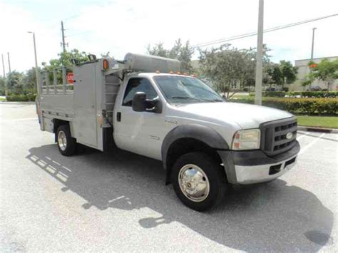 ford service truck ford f 450 2005 utility service trucks